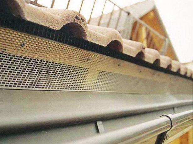 Продухи на крыше из профнастила