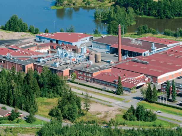 Завод Katepal OY в Финляндии