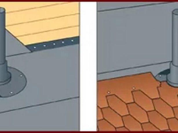 Обустройство вентиляционных выходов