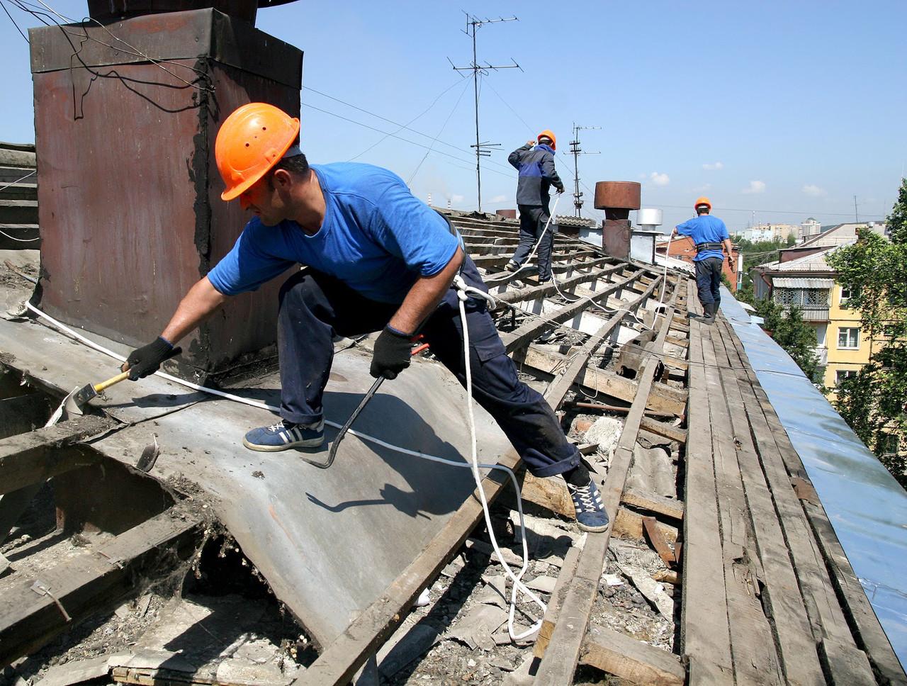Всё о демонтаже крыши