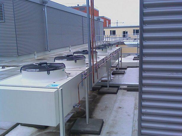 Оборудование на крыше
