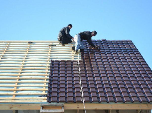 Подпорки для работы на крыше