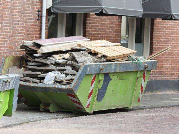 Строительный контейнер для мусора