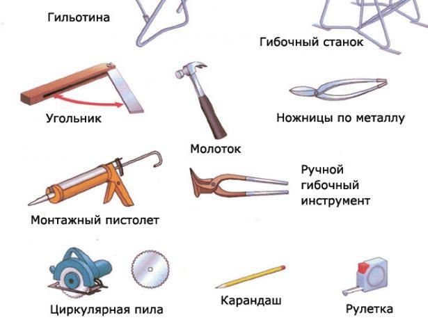 Инструменты для монтажа композитной черепицы