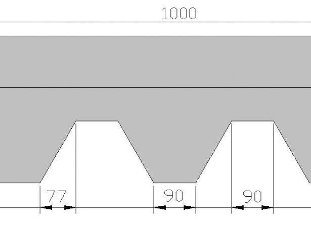 Размеры битумной черепицы
