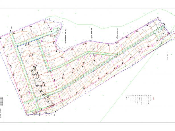 Схема водоснабжения территории СНТ
