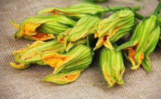 Цветы кабачков прекрасны в натуральном виде, а также в качестве блюда