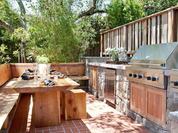 Кухня для любителей солнечных ванн