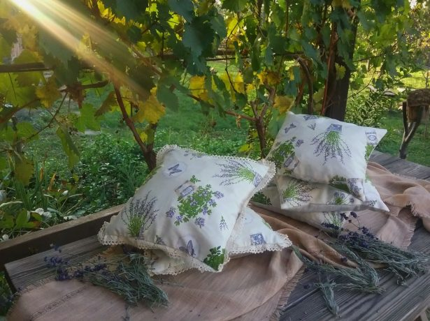 Подушки из лаванды