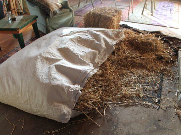 Подушка из соломы