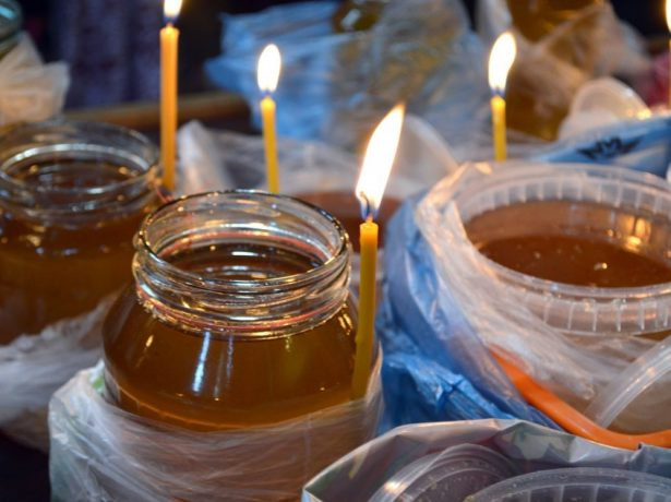 Освящение мёда