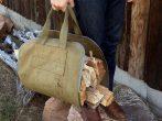 Брезентовая сумка-переноска