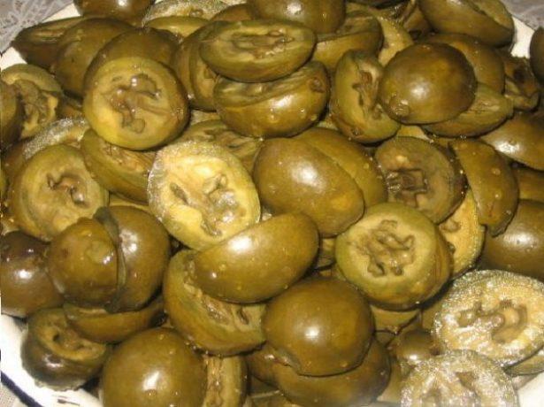 Орехи после варки