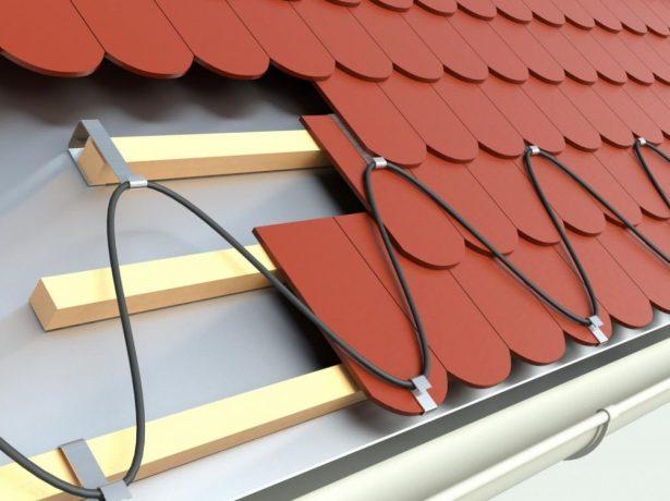 Кабель для обогрева крыши