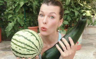 9 звезд, которые любят самостоятельно выращивать овощи и фрукты