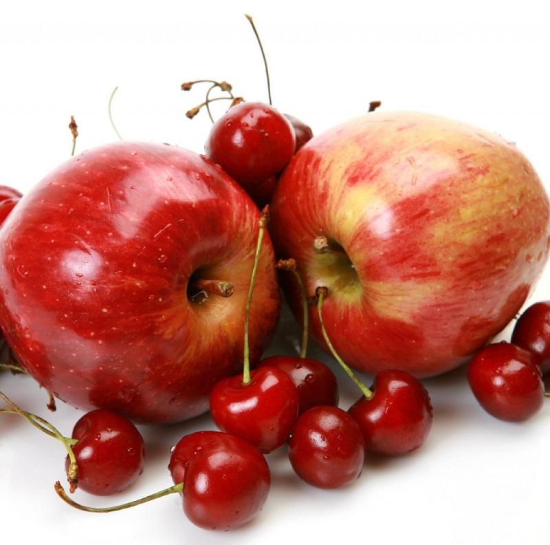 Яблоня — Вишня