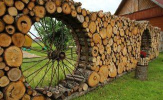 5 оригинальных дачных заборов, которым позавидуют соседи