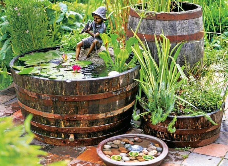 5 быстрых и недорогих способов создать водоем на участке